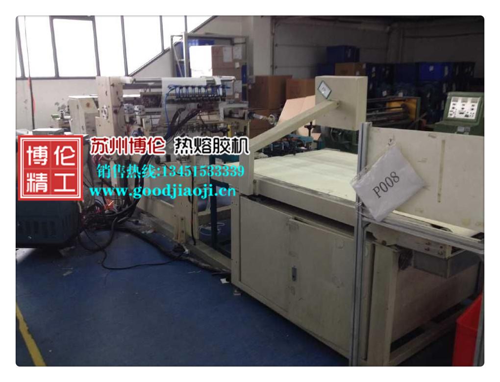 滤清器折纸机配套应用